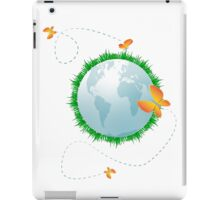 Eco planet iPad Case/Skin