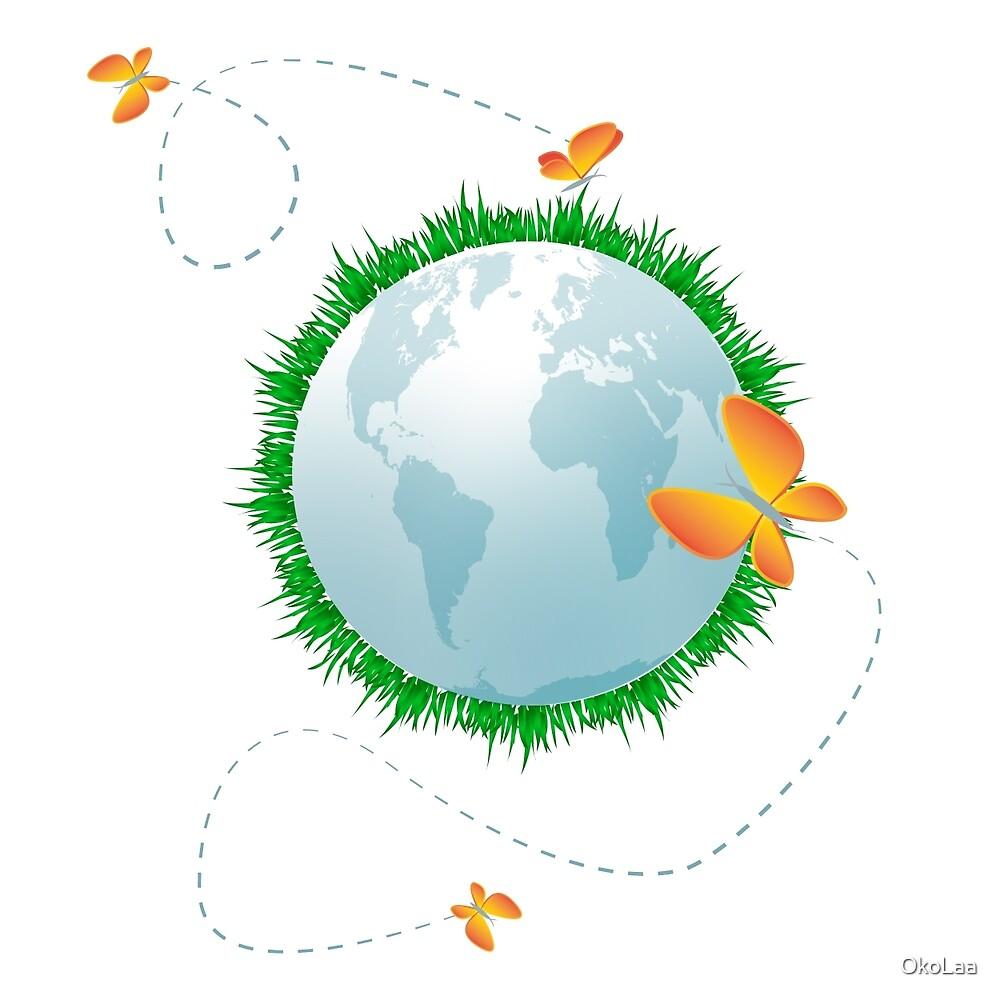 Eco planet by OkoLaa