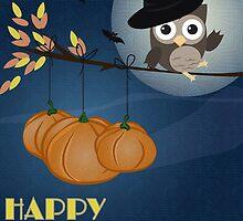 Owl Happy Halloween by OkoLaa
