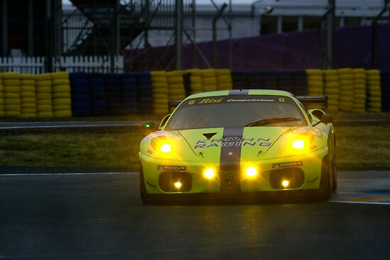Le Mans 2009 by night by Yves Roumazeilles