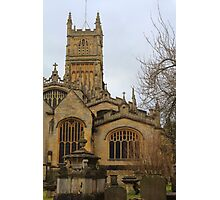 Cirencester Church Photographic Print