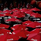 Red  Umbrella's    by fiat777