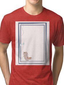 Happy kitten Tri-blend T-Shirt