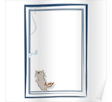 Happy kitten Poster