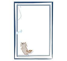 Happy kitten Photographic Print