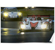 Le Mans 2009 by night Poster