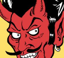 Satanic Hair Care Sticker