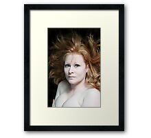 """Make Love To Me"" Framed Print"