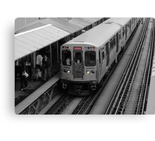 "Chicago ""L"" Canvas Print"