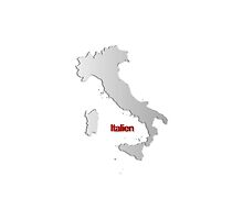 Map of Italy 2 by gruml