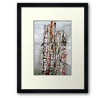 Bamboo in Color Framed Print