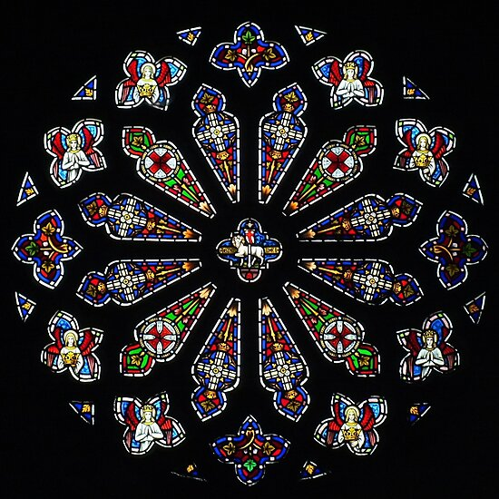 Rose Window, Bodelwyddan by Yampimon