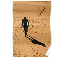 St. Finian's Bay - Lone Surfer Poster