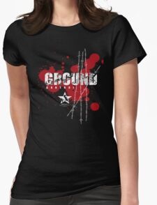 ground control Womens Fitted T-Shirt
