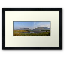 Northern Reflections Framed Print