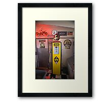 Twenty Cents a Gallon Framed Print