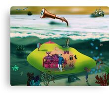 A Yellow Submarine Canvas Print