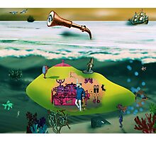 A Yellow Submarine Photographic Print