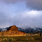Moulton Barn, Mormon Row - Teton Sunrise by Stephen Beattie