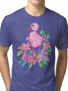 Duckling Delicious Tri-blend T-Shirt