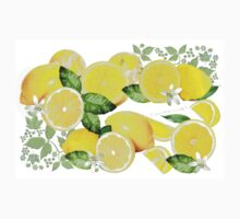 Acid Lemon from Calabria One Piece - Short Sleeve