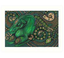 Water Horse Art Print