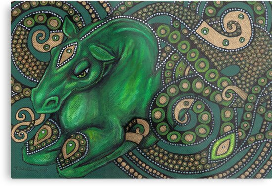 Water Horse by Lynnette Shelley