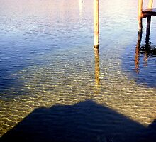 Shadows and Reflections in clear waters by sstarlightss