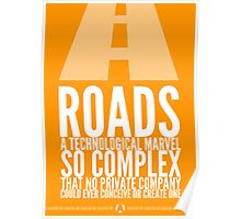 But Who Would Build The Roads? Poster