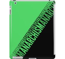 Green Anarchism iPad Case/Skin
