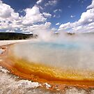 Sunset Lake, Yellowstone by Gina Ruttle  (Whalegeek)