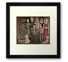 modern family Framed Print
