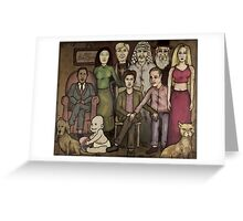 modern family Greeting Card