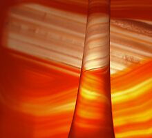 Agate and glass tube by frankbaker
