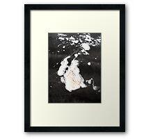 frothy  Framed Print