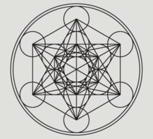 Metatrons Cube, Flower of life, Sacred Geometry by nitty-gritty