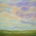 Evening Sky-  Cloud Study by Estelle O'Brien