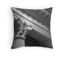 Architectural Detail - Franklin Institute - Philadelphia, Pennsylvania Throw Pillow