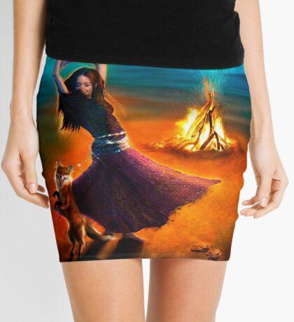Dance Like a Dervish II Mini Skirt