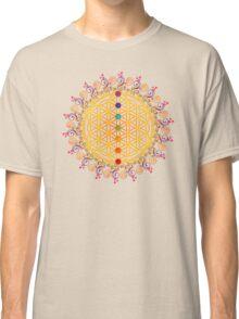 FLOWER OF LIFE, CHAKRAS, SPIRITUALITY, YOGA, ZEN,  Classic T-Shirt