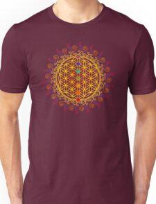 FLOWER OF LIFE, CHAKRAS, SPIRITUALITY, YOGA, ZEN,  Unisex T-Shirt