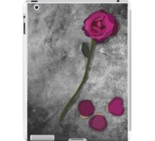 Beauty and the Beast Rose iPad Case/Skin