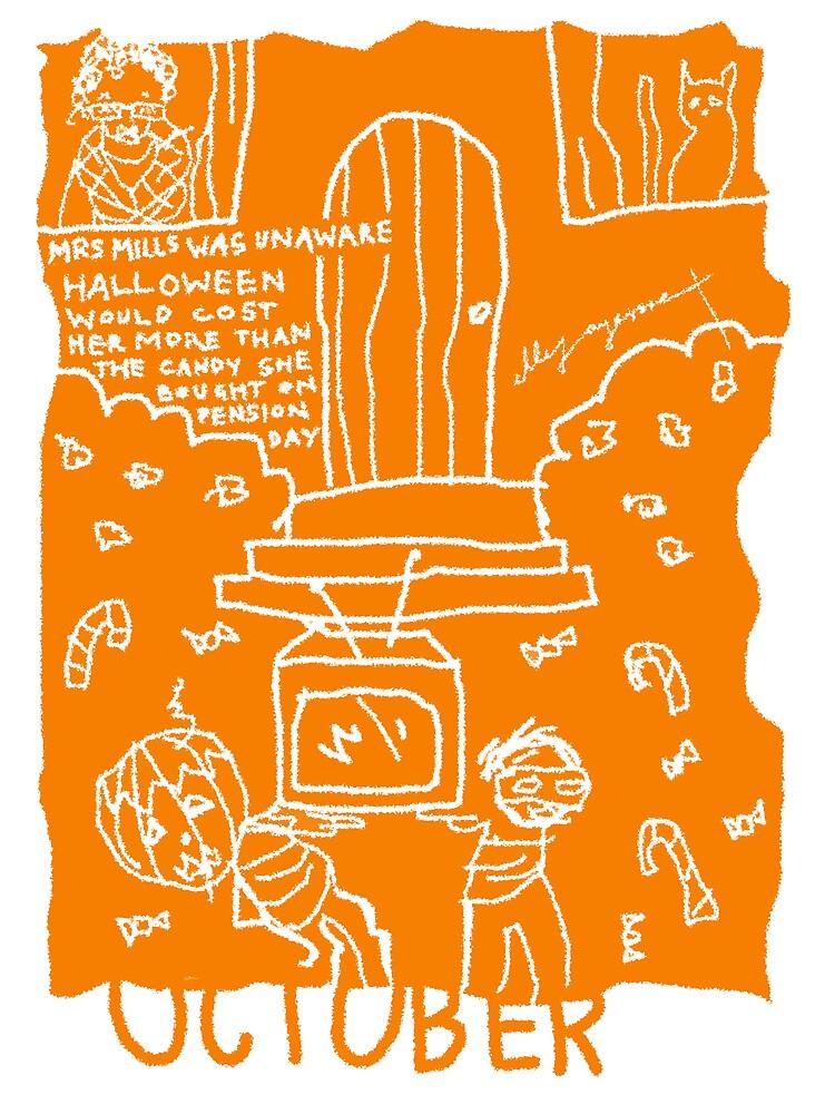 October  by ellejayerose