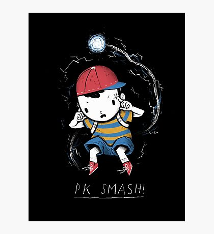 PK smash Photographic Print