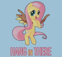 Hang in There Fluttershy Kids Tee