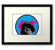 THE NOTORIOUS BIGGIE SMALLS Framed Print