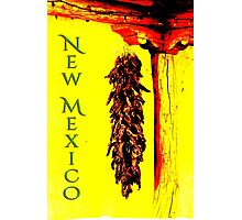 New Mexico Chili Ristra poster Photographic Print