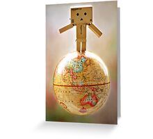 .world domination. Greeting Card