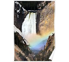'Rainbow' Falls Poster