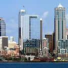 Seattle Skyline Twelve by Rick Lawler